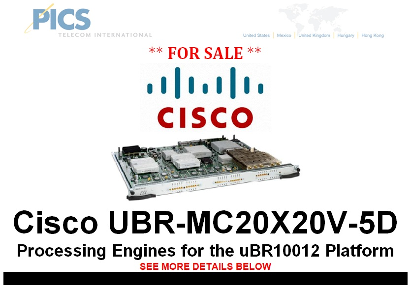 Cisco UBR-MC20X20V-5D For Sale Top