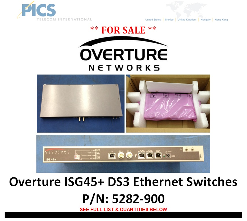 Overture ISG45+ For Sale Top