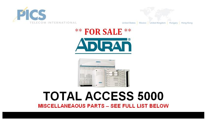 Adtran TA5000 For Sale Top (4.4.13)