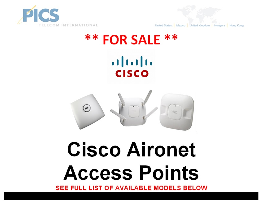 Cisco Aironet Access Points For Sale Top (7.9.13)