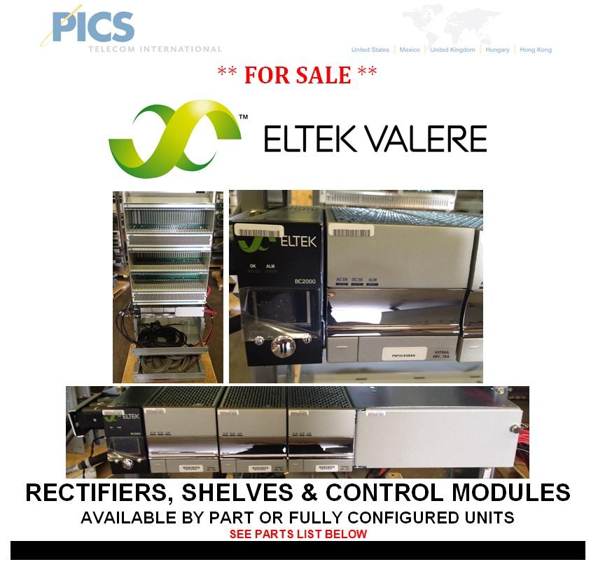 Eltek-Valere Rectifiers For Sale Top (10.28.13)