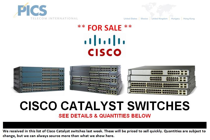 Cisco Catalyst Switches Top (12.9.13)