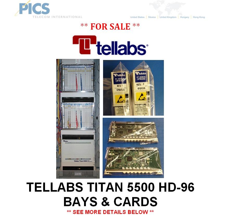 Tellabs Titan 550 HD-96 For Sale Top (1.6.14)