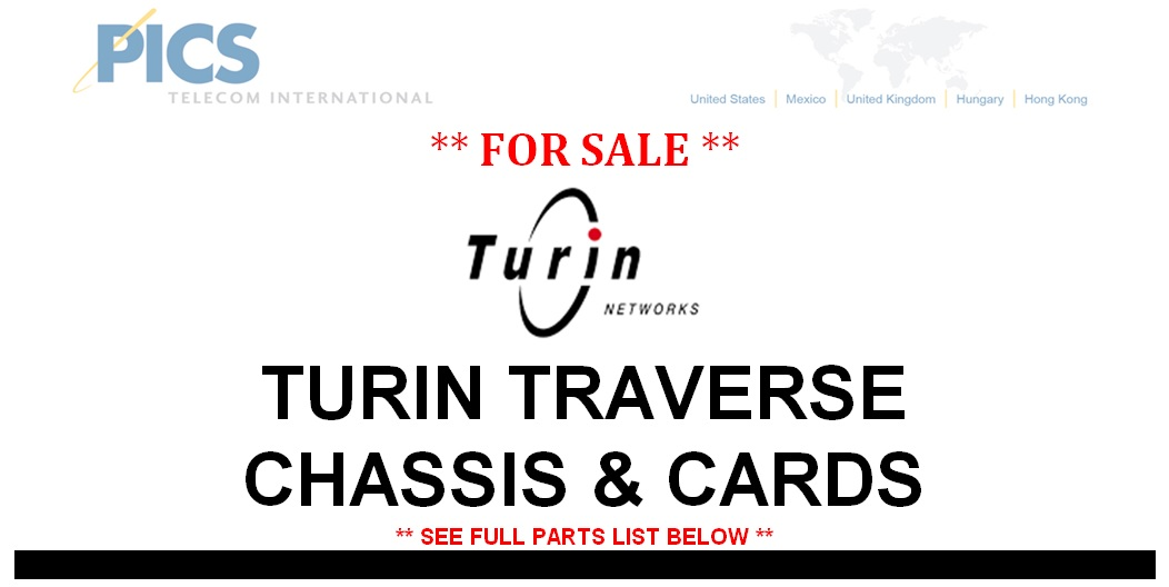 Turin Traverse Parts For Sale Top (5.29.14)