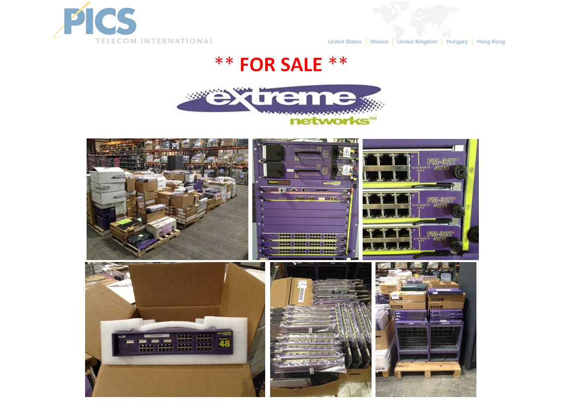 Extreme Networks Equipment For Sale Top (7.23.14)